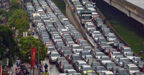 Bộ ảnh giao thông Hà Nội cho bạn biết nguyên nhân vì sao nơi đây quanh năm tắc đường