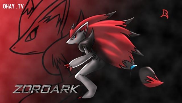 Zoroark ( Bá Vương Ảo Ảnh ),pokemon