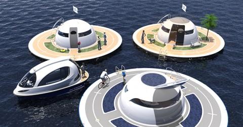 Những ngôi nhà UFO có thể xuất hiện trên biển trong tương lai
