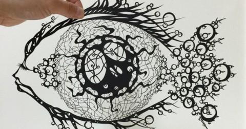 Mãn nhãn với nghệ thuật cắt giấy của nghệ nhân người Nhật Bản Mr Riu