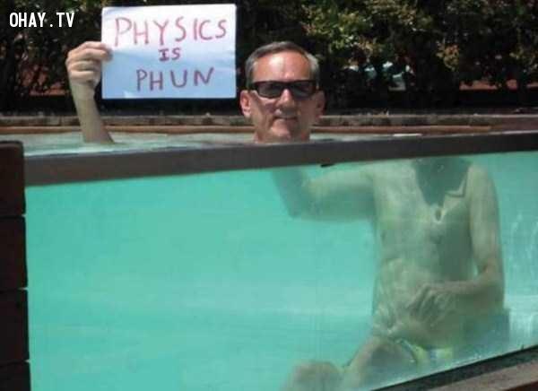,hình ảnh lạ,định luật vật lý,những điều thú vị trong cuộc sống