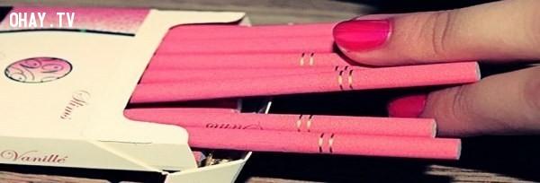 Những điếu thuốc màu hồng trong sành điệu làm sao, bạn muốn thử không?,sản phẩm độc đáo,sản phẩm dành riêng cho phái đẹp