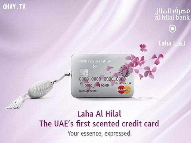 Thẻ ngân hàng dành cho phái đẹp.,sản phẩm độc đáo,sản phẩm dành riêng cho phái đẹp