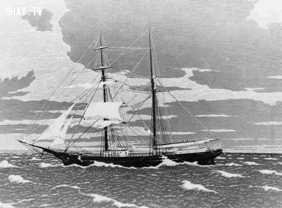 2. Mary Celeste,tàu ma,bí ẩn chưa có lời giải