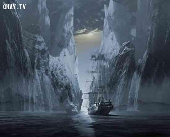 4. Octavius ,tàu ma,bí ẩn chưa có lời giải