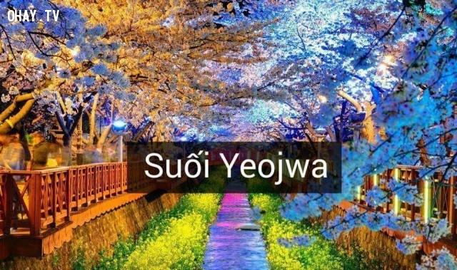 Suối Yeojwa,Hàn Quốc,địa danh nổi tiếng,cảnh đẹp ở hàn quốc