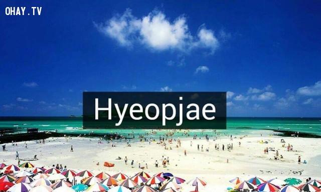 Hyeopjae,Hàn Quốc,địa danh nổi tiếng,cảnh đẹp ở hàn quốc