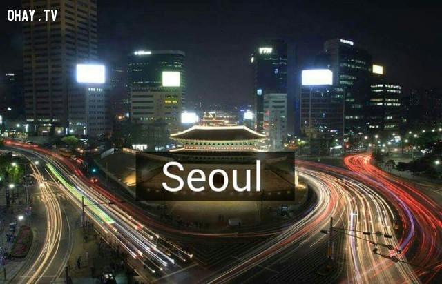 Seoul,Hàn Quốc,địa danh nổi tiếng,cảnh đẹp ở hàn quốc