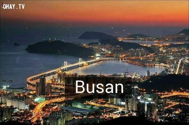 Busan,Hàn Quốc,địa danh nổi tiếng,cảnh đẹp ở hàn quốc