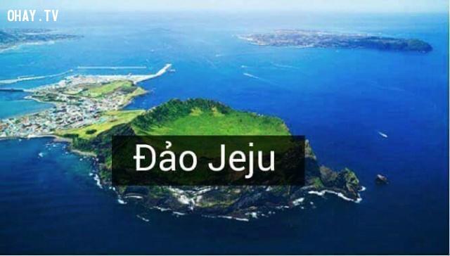 Đảo Jeju,Hàn Quốc,địa danh nổi tiếng,cảnh đẹp ở hàn quốc