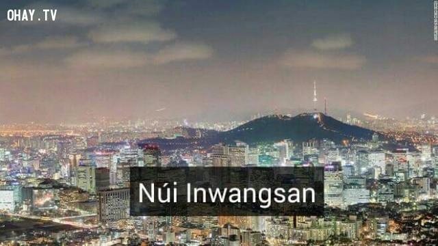 Núi Inwangsan,Hàn Quốc,địa danh nổi tiếng,cảnh đẹp ở hàn quốc