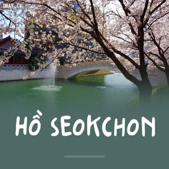 Hồ Seokchon,Hàn Quốc,địa danh nổi tiếng,cảnh đẹp ở hàn quốc