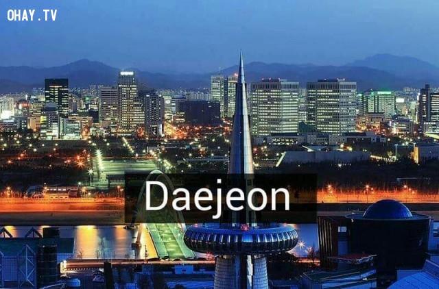 Daejeon,Hàn Quốc,địa danh nổi tiếng,cảnh đẹp ở hàn quốc