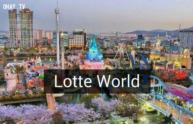 Lotte Word,Hàn Quốc,địa danh nổi tiếng,cảnh đẹp ở hàn quốc