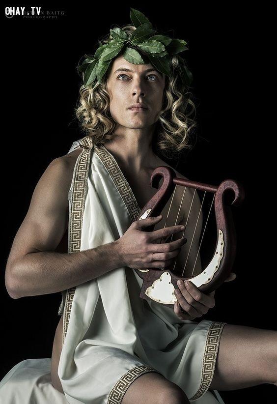 Thần Apollo (Thần Ánh sáng) - Song Tử,olympia,cung hoàng đạo,zeus,hades,poseidon