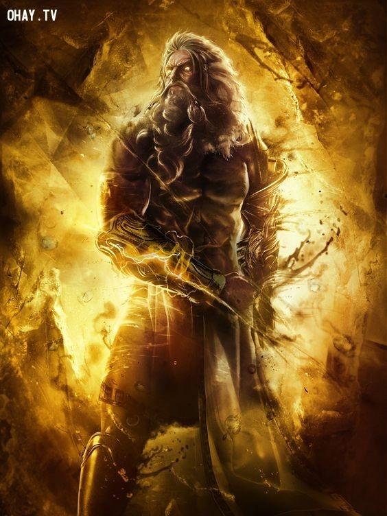 Thần Zeus - Sư Tử