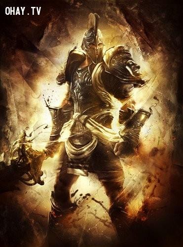 Thần Ares (Thần Chiến tranh) - Thiên Yết ,olympia,cung hoàng đạo,zeus,hades,poseidon
