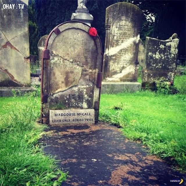 Marjorjie McCall,người chết sống lại