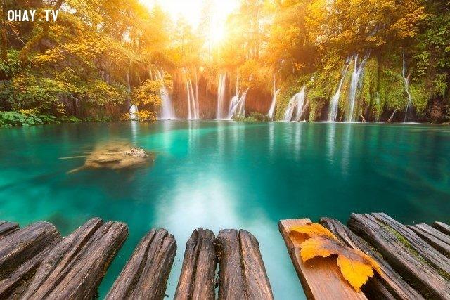 Plitvice, Croatia,bình minh,thế giới,tuyệt,đẹp,ảnh