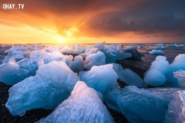 Iceland,bình minh,thế giới,tuyệt,đẹp,ảnh
