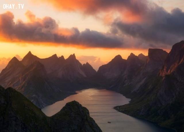 Norway,bình minh,thế giới,tuyệt,đẹp,ảnh