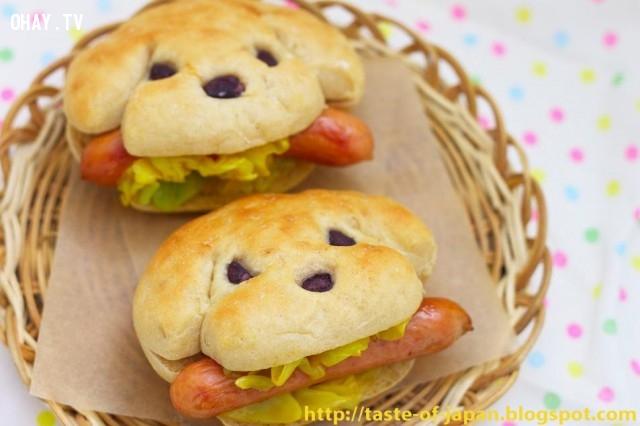 Hot Dogs ,đáng yêu,khởi động ngày mới,công thức