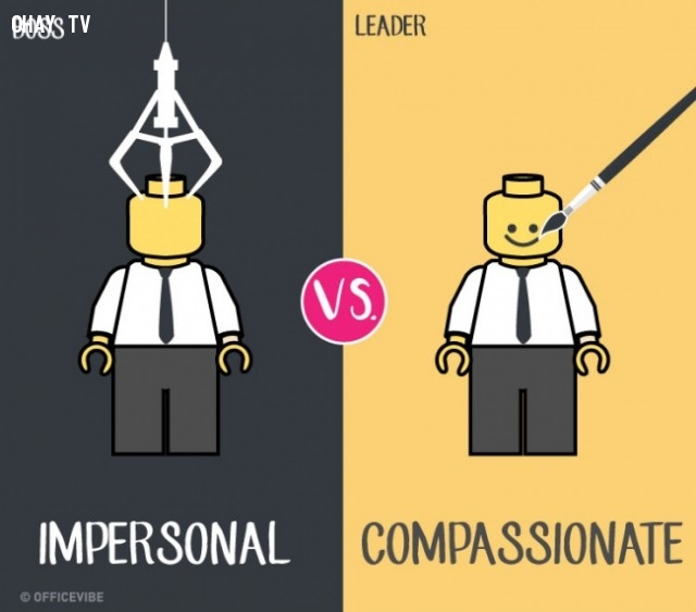 1.,boss,leader,differences
