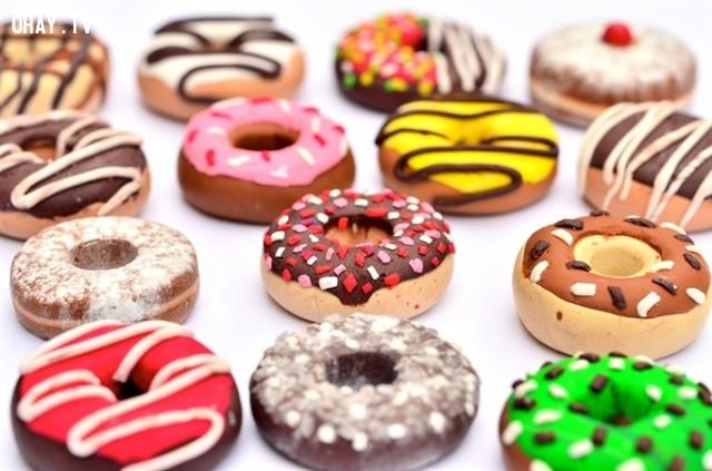 ,bánh donut,bánh donut đáng yêu