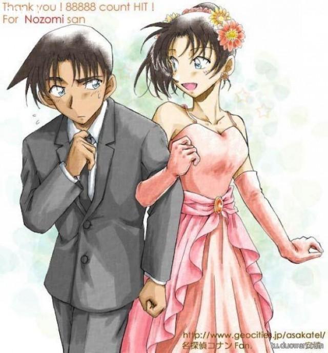 Hattori Heiji và Kazuha ,