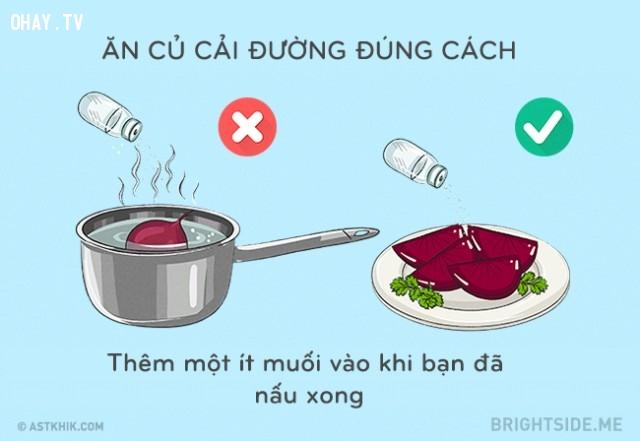 Ăn củ cải đường đúng cách,mẹo vặt,mẹo nhà bếp,mẹo nấu ăn
