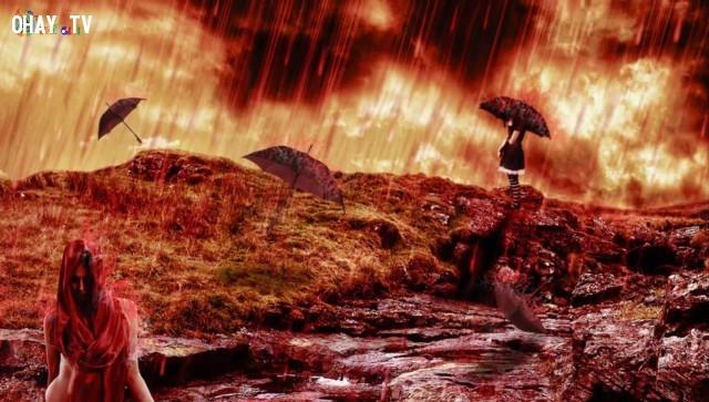 ,mưa máu,mưa tiền,những cơn mưa kì lạ,bí ẩn