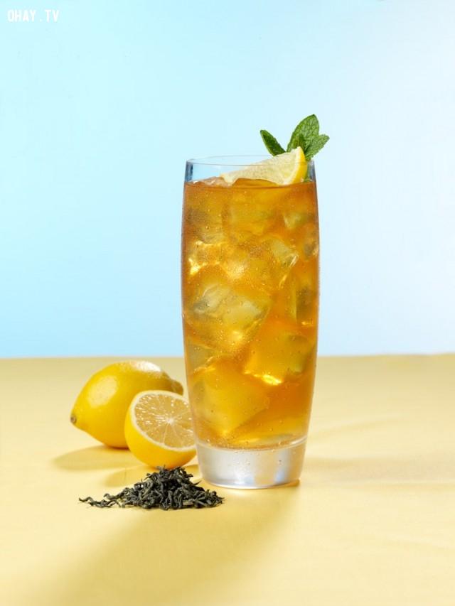5.Trà chanh,thức uống mùa hè,thức uống thanh nhiệt,thức uống đẹp da,pha chế thức uống đơn giản