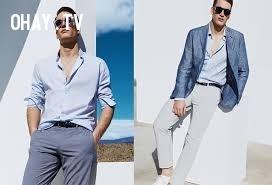 1. Áo sơ mi, áo polo,trang phục ngày hè,nam