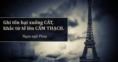15 ngạn ngữ Pháp đáng suy ngẫm bạn không nên bỏ qua