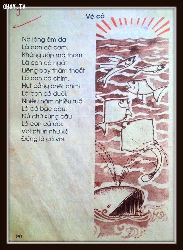 Vè cá,trang sách,8x 7x,ngày thơ