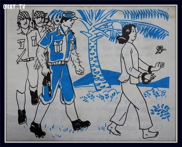 Trên đường ra Côn Đảo,trang sách,8x 7x,ngày thơ