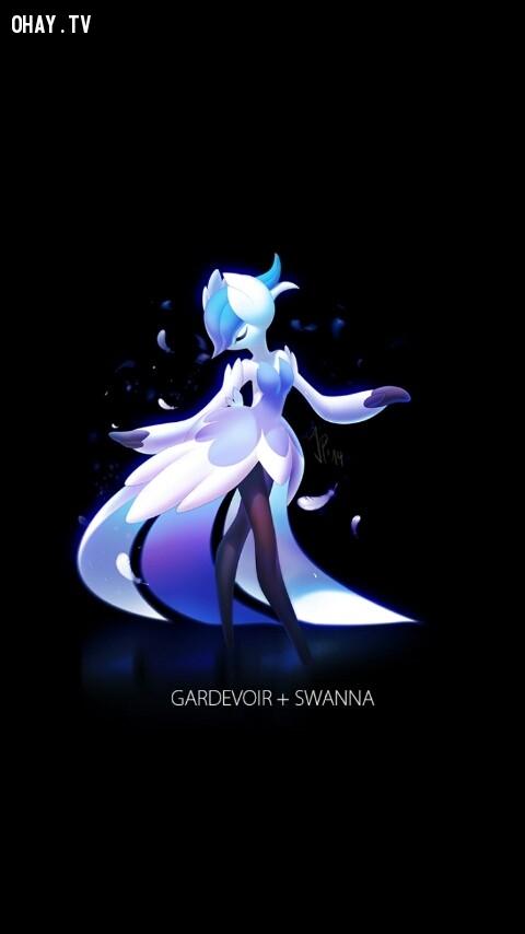Gardvoir + Swanna,pokemon
