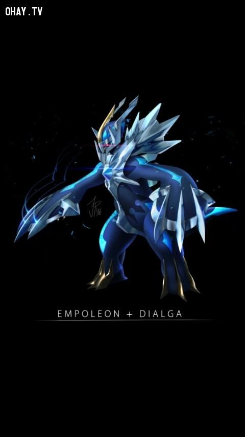 Dialga + Empoleon,pokemon