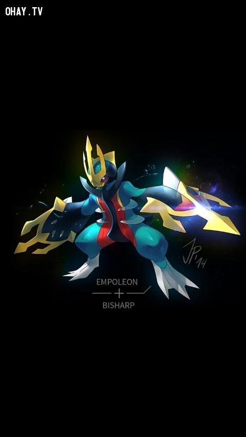 Empoleon + Bisharp,pokemon