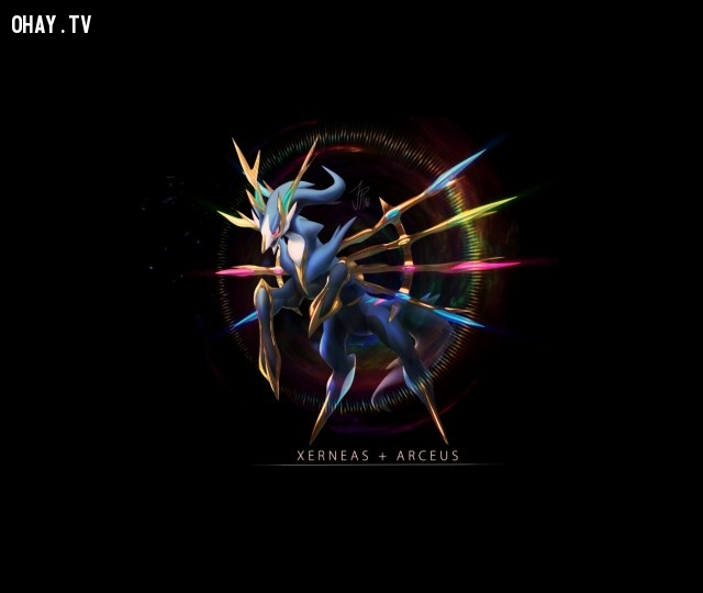 Arceus + Xerneas,pokemon