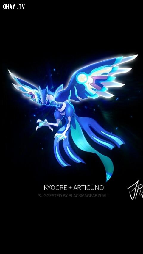 Kyogre + Articuno,pokemon
