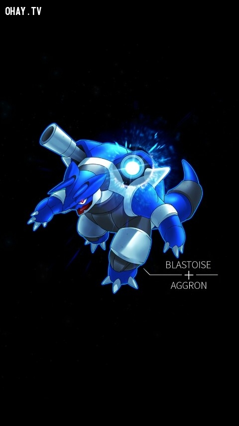 Blastoise + Aggron,pokemon