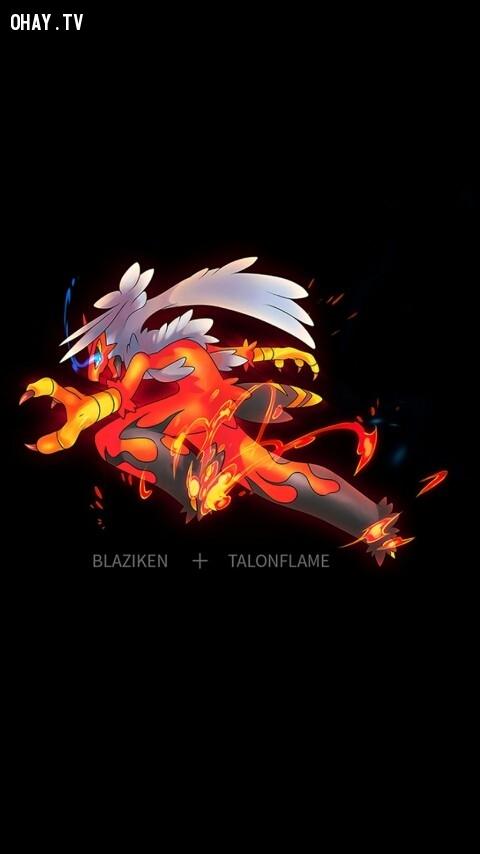 Blaziken + Talonflame,pokemon