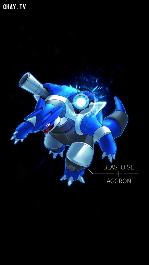 Aggron + Blastoise,pokemon