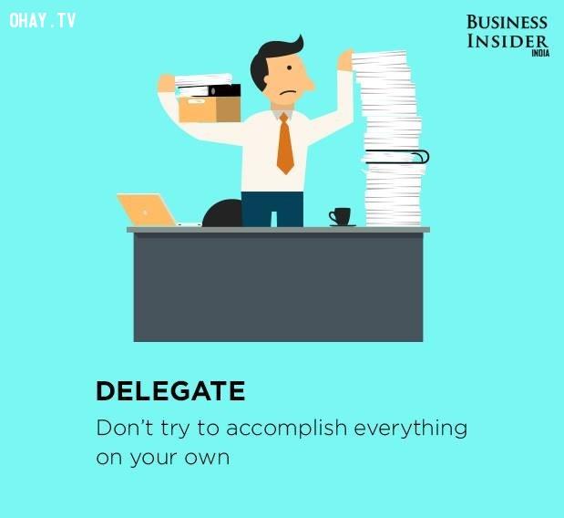 4. Giao phó công việc,làm việc hiệu quả,thúc đẩy năng suất,gia tăng năng suất,làm việc năng suất,năng suất cao
