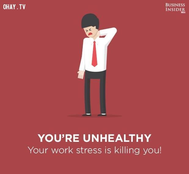 9. Bạn không khỏe mạnh,công việc nhàm chán,sự hài lòng với công việc,mức độ hài lòng với công việc,công việc không phù hợp