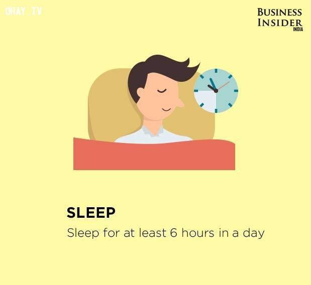 10. Ngủ,làm việc hiệu quả,thúc đẩy năng suất,gia tăng năng suất,làm việc năng suất,năng suất cao