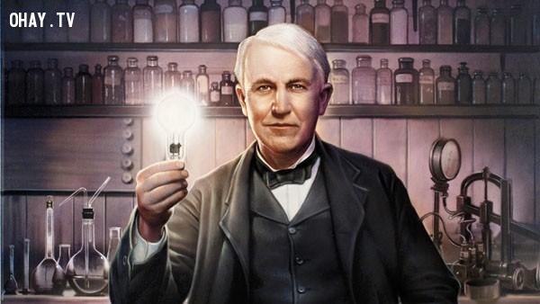 4) Thomas Edison: Thay đổi quan niệm về sai lầm,làm thế nào để thông minh hơn,thông minh hơn mỗi ngày,cuộc sống của các thiên tài,thay đổi bản thân