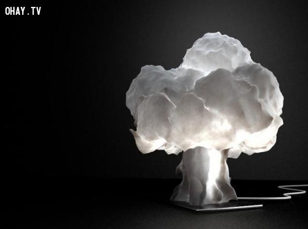 Đèn mô phỏng vụ nổ hạt nhân, với cái đèn này bạn sẽ chứng kiến tận mắt vụ nổ ngay tại nhà chẳng cần đi đâu xa.,sản phẩm sáng tạo,phục vụ học tập,đồng hồ toán học