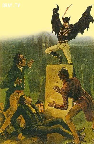 Springheel Jack,sinh vật bí ẩn